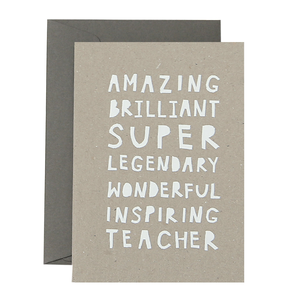AMAZING TEACHER - various colours