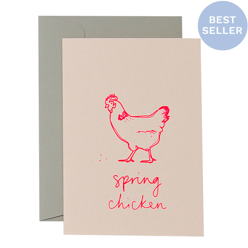 SKETCHY SPRING CHICKEN - various colours