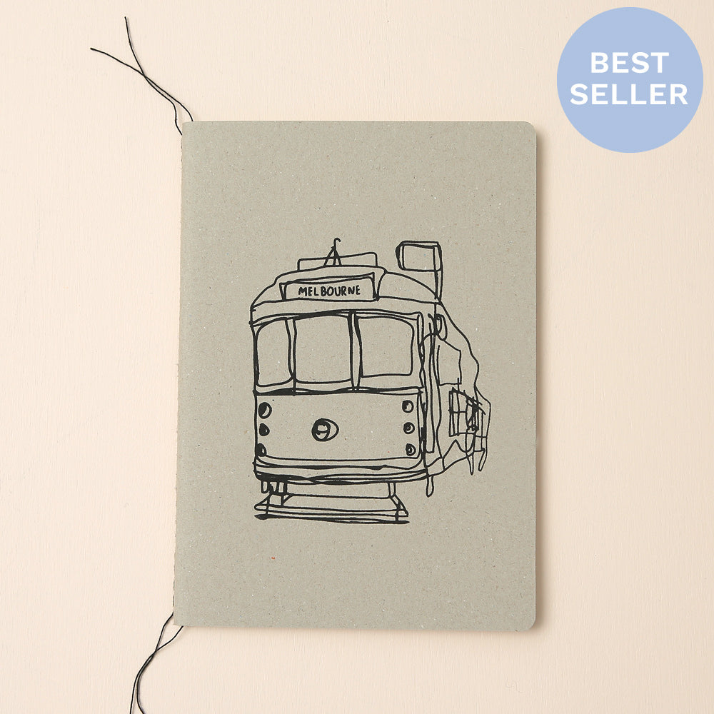 MELBOURNE TRAM NOTEBOOK