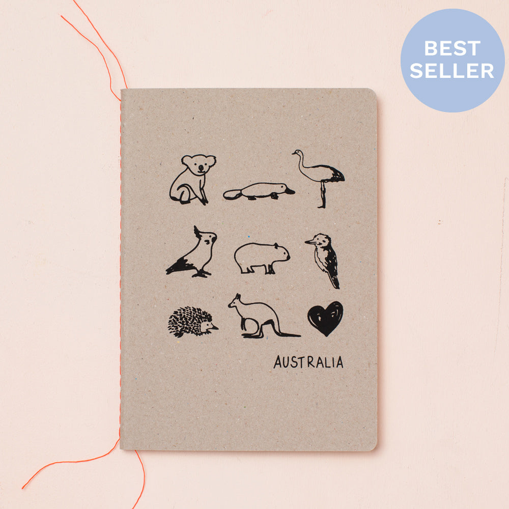AUSTRALIAN ANIMALS NOTEBOOK