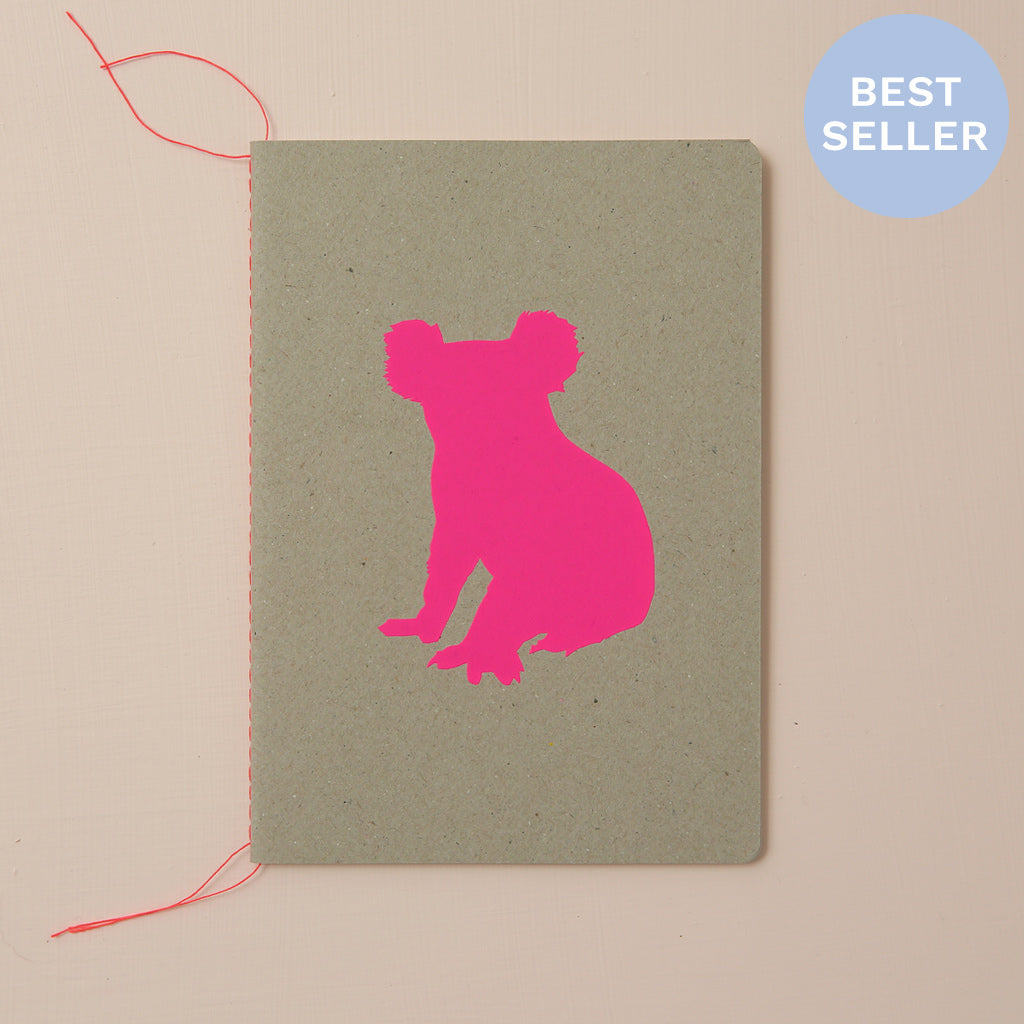 KOALA NOTEBOOK - various colours