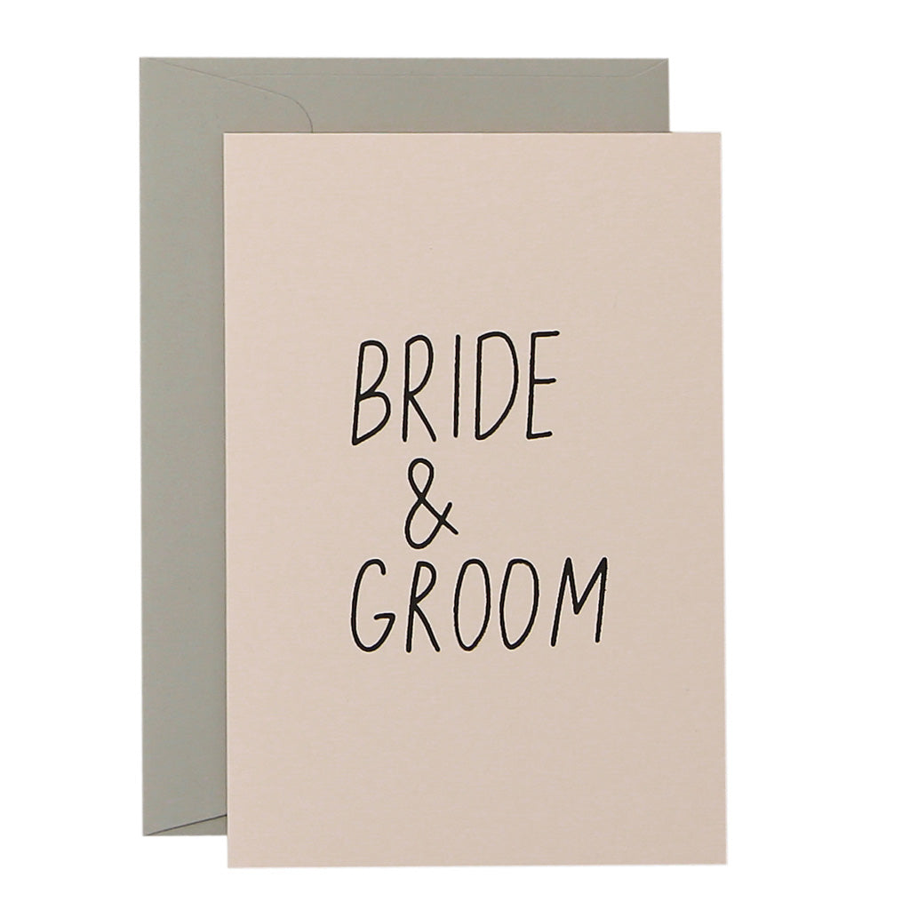 SLIM BRIDE + GROOM - various colours