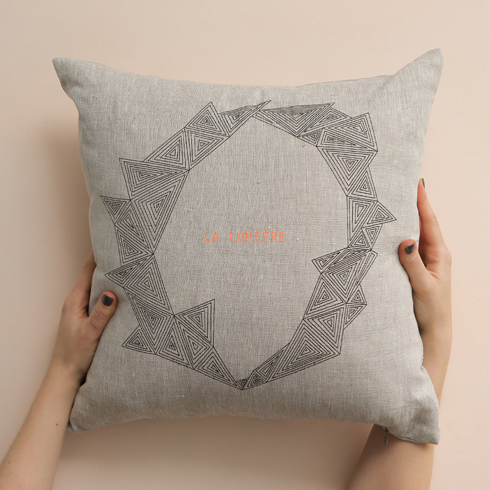 LA LUMIERE cushion cover