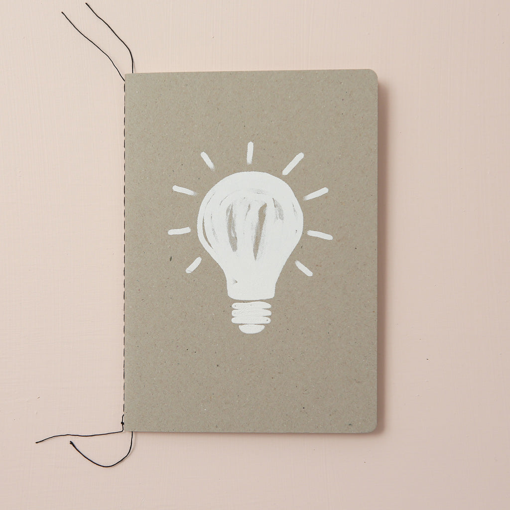 LIGHTBULB NOTEBOOK