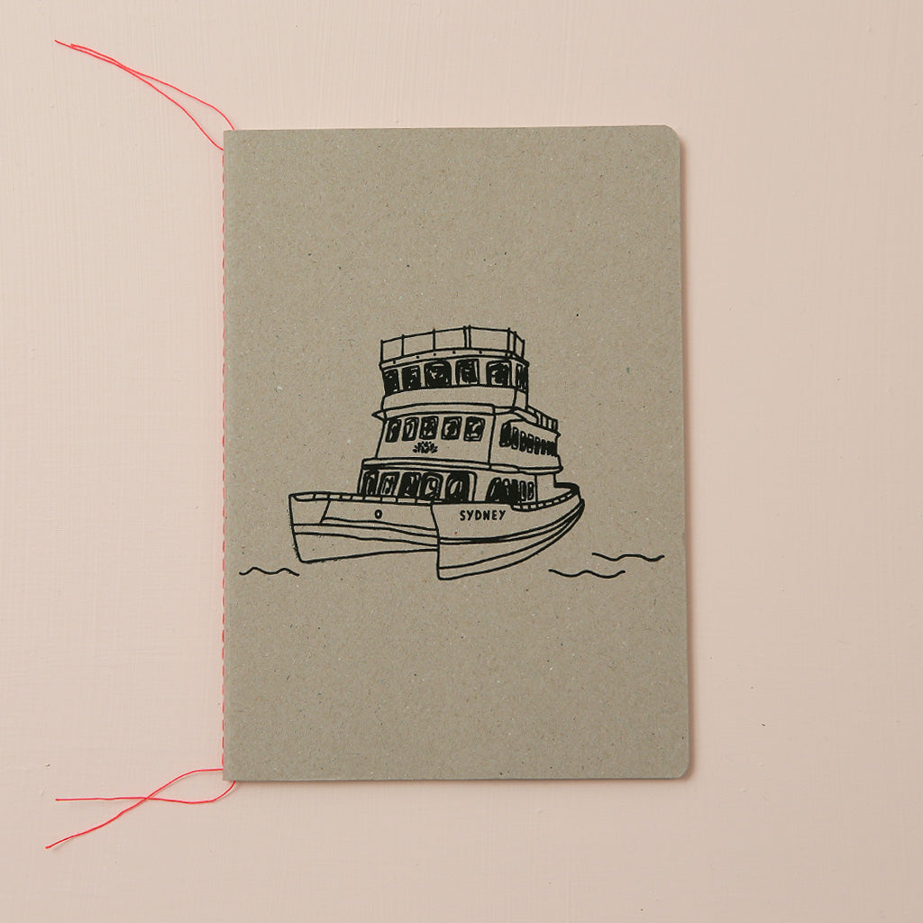 SYDNEY FERRY NOTEBOOK