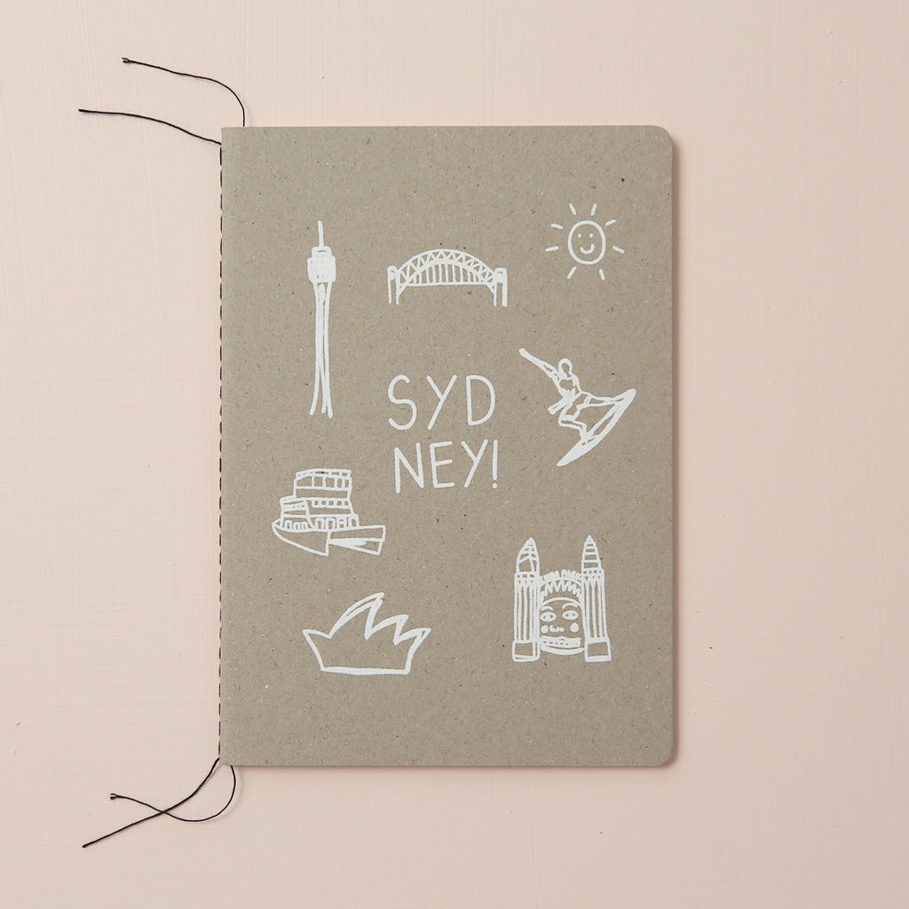 SYDNEY THINGS NOTEBOOK
