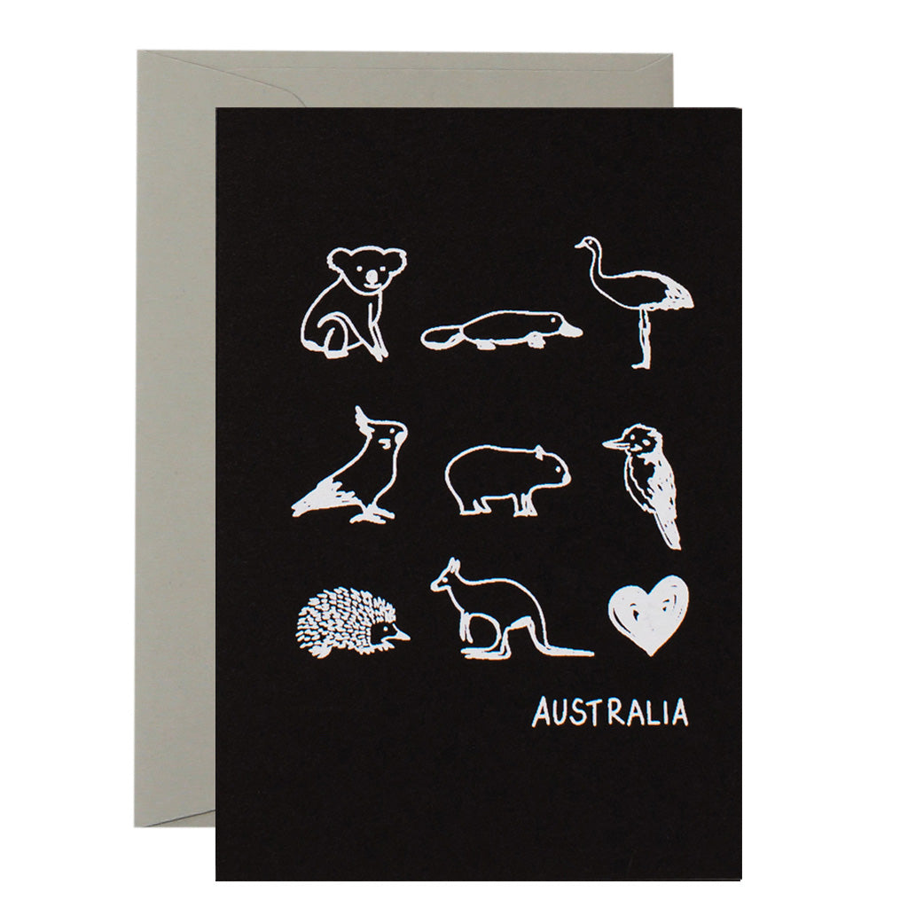 AUSTRALIAN ANIMALS - various colours