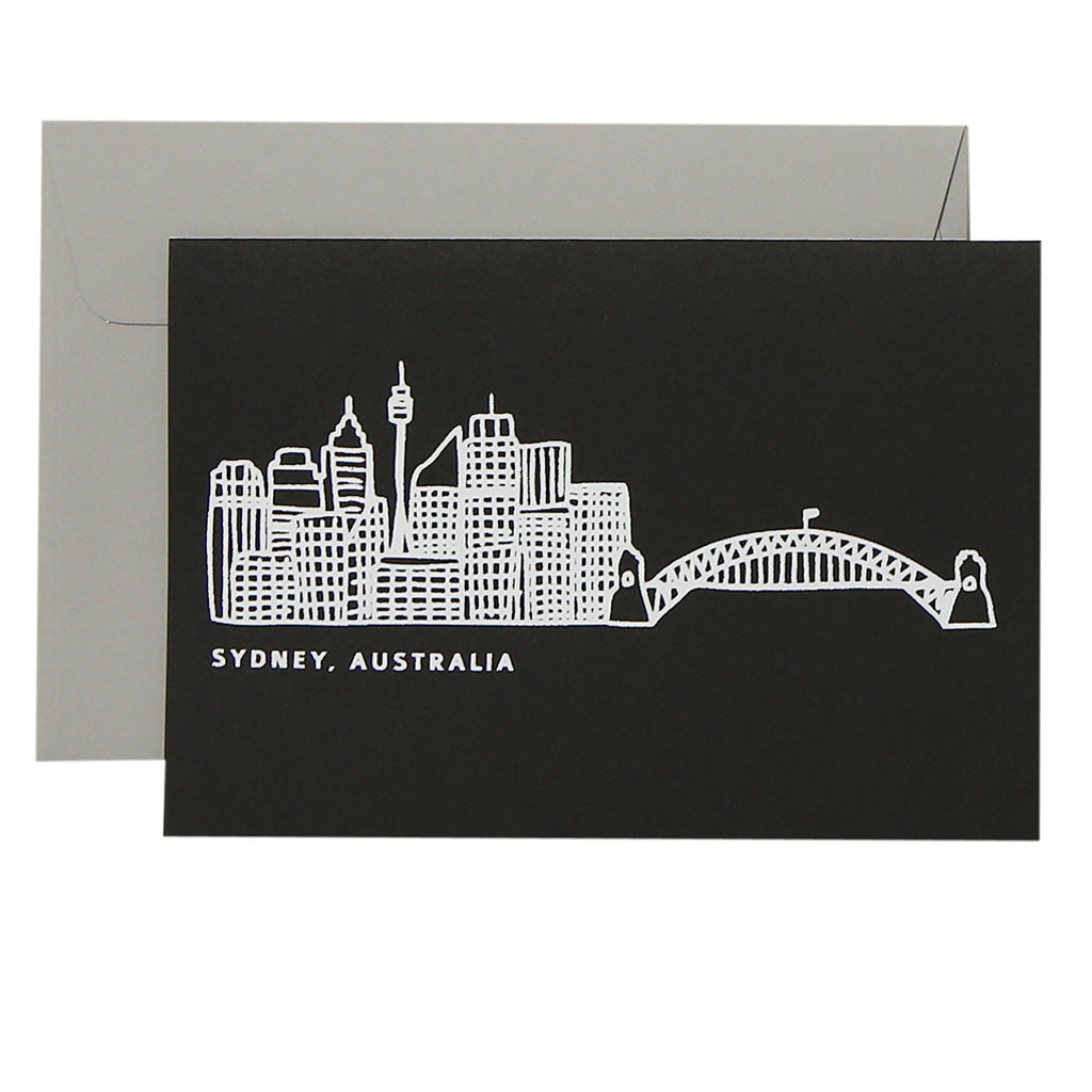 SYDNEY SKYLINE - various colours