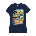 Bella + Canvas 6004 Women's Jersey Crew Neck Tee - Alappuzha