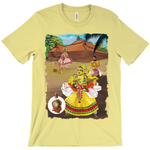 Bella + Canvas 3001 Unisex Jersey Crew Neck Tee | Incredible India|BEST Kerala Tees|kunjan nambiar Ottamthullal|Kathakali dance forms|idakka|Mizhavu