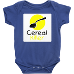 Rabbit Skins 4400 Infant Baby Rib Bodysuit - Cereal Killer