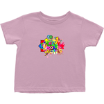 Rabbit Skins 3301T Toddler Cotton Jersey Tee - Happy Holi