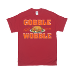 Thanksgiving | Gildan 2000 Crew Neck Unisex Tshirt|Gobble Wobble Turkey