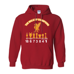 Gildan 18500 Unisex Pullover Hoodie ( No-Zip ) | Liverpool FC | Walk of the champions