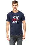 Men's Round Neck 100% cotton tshirt - APNA time Ayega | Marvel Superhero Avengers theme
