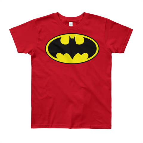 Boy's Round Neck 100% cotton tshirt - Batman