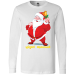 "3501 Bella + Canvas Men's Jersey Long Sleeve T-Shirt - ""XMAS"""