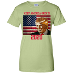 G200L Gildan Ladies' 100% Cotton T-Shirt - Donald Trump