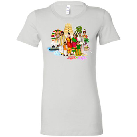 6004 Bella + Canvas Ladies' Favorite T-Shirt - Tamil Culture