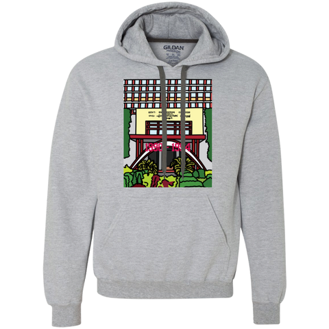 "G925 Gildan Men's Heavyweight Pullover Fleece Sweatshirt - ""Trichur Engg College"" Doodle -Personalised year"