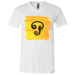 3005 Bella + Canvas Unisex Jersey SS V-Neck T-Shirt - Tamil Om