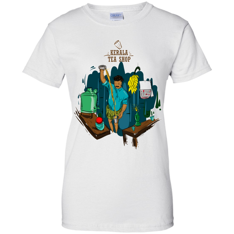 G200L Gildan Ladies' 100% Cotton T-Shirt - Tea stall