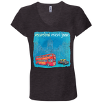 B6005 Bella + Canvas Ladies' Jersey V-Neck T-Shirt - Mumbai