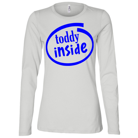 "B6450 Bella + Canvas Ladies' Jersey Long Sleeve T-shirt - ""Toddy"""