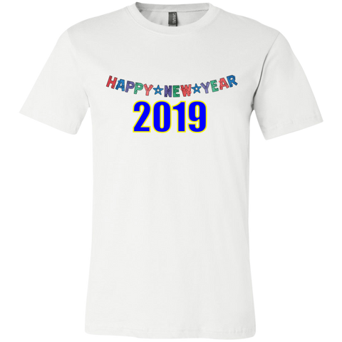"3001C Bella Canvas Unisex Jersey Short-Sleeve Crew-Neck T-Shirt - ""New Year"""