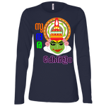 "B6450 Bella + Canvas Ladies' Jersey Long Sleeve T-shirt - ""Kathakali"""