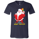 "3005 Bella Canvas Unisex Jersey  V-Neck T-Shirt - ""XMAS"""