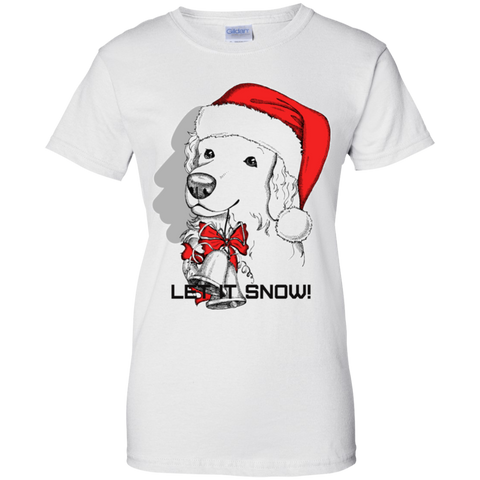 G200L Gildan Ladies' 100% Cotton T-Shirt - Golden Retriever
