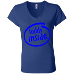 "B6005 Bella + Canvas Ladies' Jersey V-Neck T-Shirt - ""Toddy"""