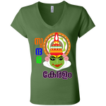 B6005 Bella + Canvas Ladies' Jersey V-Neck T-Shirt - Kathakali