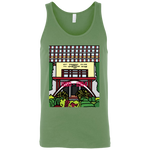 "3480 Bella + Canvas Unisex Tank - ""Trichur Engg College"" Doodle -Personalised year"