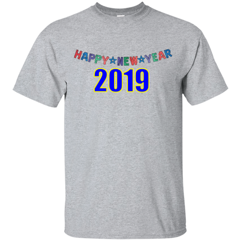 "G200 Gildan Unisex Crew-neck  T-Shirt - ""New Year"""