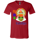 "3005 Bella Canvas Unisex Jersey V-Neck T-Shirt - ""Kathakali"""