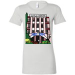 "6004 Bella + Canvas Ladies' Crew-Neck T-Shirt - ""Trivandrum Engg College"" Doodle -Personalised year"