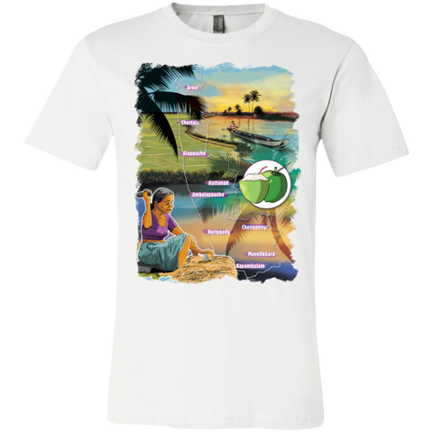 3001C Bella + Canvas Unisex Jersey Short-Sleeve T-Shirt - Alappuzha