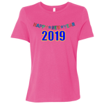 "B6400 Bella + Canvas Ladies' Relaxed Jersey Short-Sleeve T-Shirt - ""New Year"""