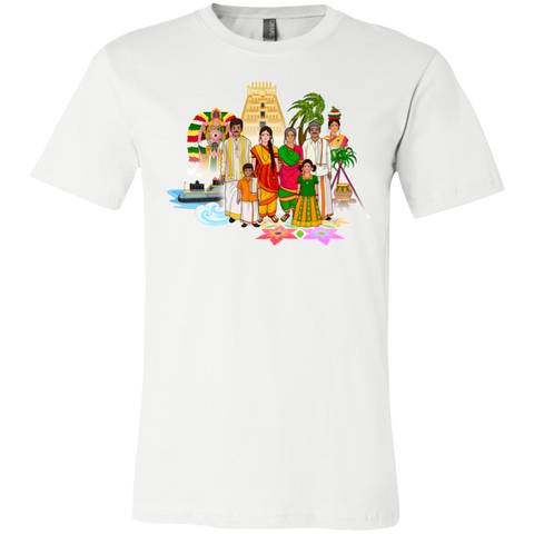 3001C Bella + Canvas Unisex Jersey Short-Sleeve T-Shirt - Tamil Culture