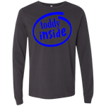 "3501 Bella + Canvas Men's Jersey Long Sleeve T-Shirt - ""Toddy"""