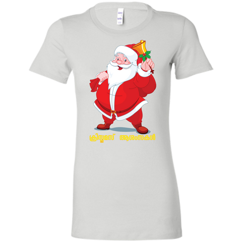 "6004 Bella + Canvas Ladies' Crew-Neck T-Shirt - ""XMAS"""