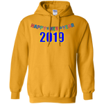 "G185 Gildan Men's Pullover Hoodie 8 oz. - ""New year"""