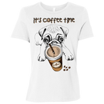 B6400 Bella + Canvas Ladies' Relaxed Jersey Short-Sleeve T-Shirt - Pug