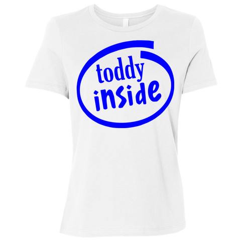 "B6400 Bella + Canvas Ladies' Relaxed Jersey Short-Sleeve T-Shirt - ""Toddy"""