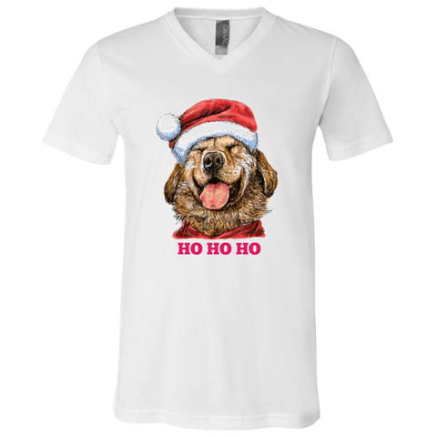 3005 Bella + Canvas Unisex Jersey SS V-Neck T-Shirt - Labrador