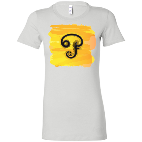 6004 Bella + Canvas Ladies' Favorite T-Shirt - Tamil Om