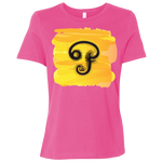 B6400 Bella + Canvas Ladies' Relaxed Jersey Short-Sleeve T-Shirt - Tamil Om