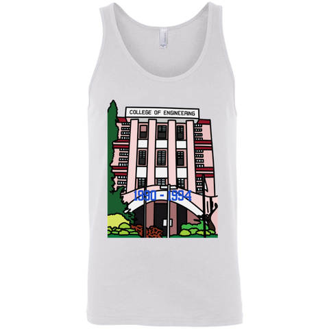 "3480 Bella + Canvas Unisex Tank - ""Trivandrum Engg College"" Doodle -Personalised year"